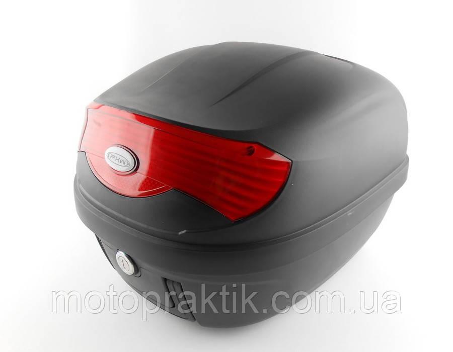 Пластиковий Кофр FXW HF-808 Чорний 29л (на один шолом)