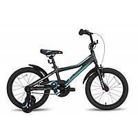 Велосипед 18'' PRIDE RIDER черно-синий 2016