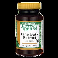 Экстракт Коры Сосны (Pine Bark Ekstrakt), 50 мг 100 капсул