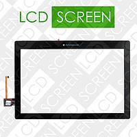 Тачскрин (touch screen, сенсорный экран) для планшета 10.1 Lenovo А10-70L, черный, оригинал