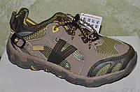 Кросівки підліткові сірі з сіткою, фото 1