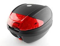 Кофр пластиковый FXW HF-877 Черный 30л (на один шлем)