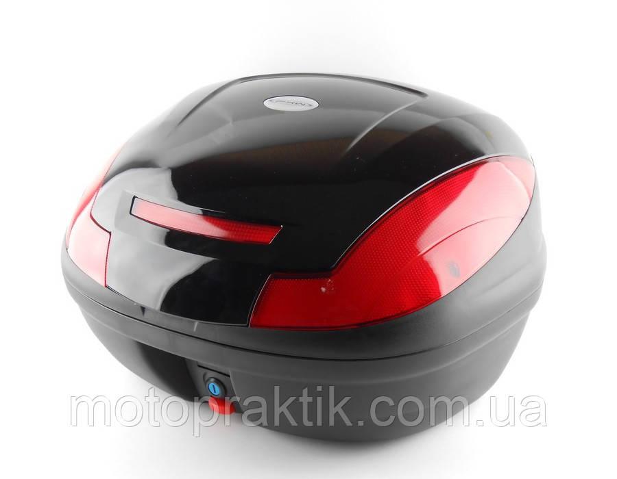Кофр пластиковый FXW HF-882 Черный 43л (на два шлема)