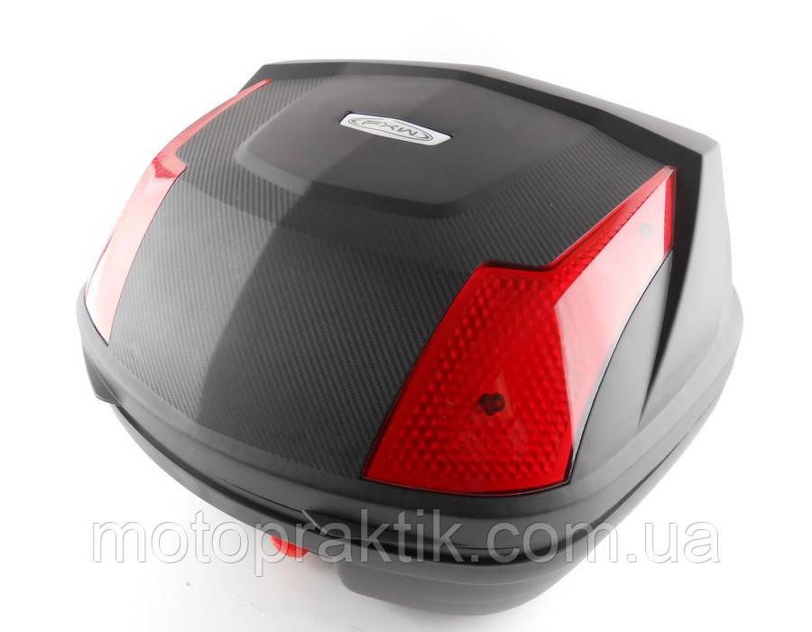 Кофр пластиковый FXW HF-888 Черный 33л (на один шлем)