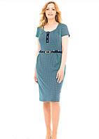 Женское платье с коротким рукавом, размеры 50 52 54 56