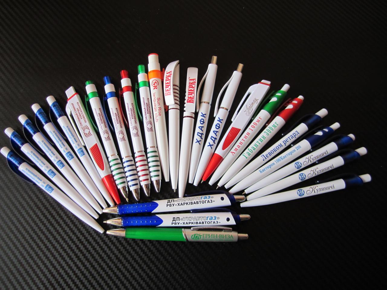 Нанесение на ручки (печать на ручках)