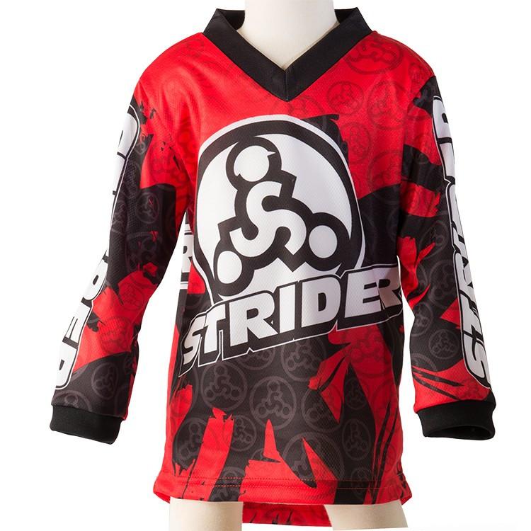Велореглан Strider (джерси) красный на 2 года