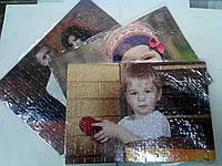 Пазлы А4 (нанесение изображения на пазлы), фото 1