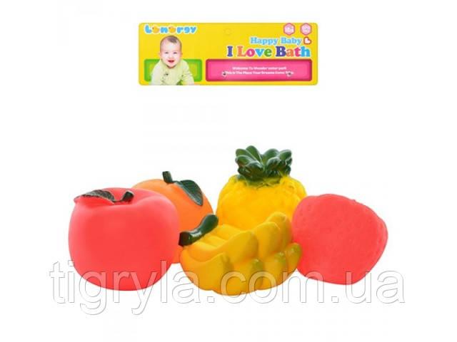 Фруктыпищалки - игрушки для ванной, для купания