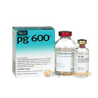 ПГ-600 (PG-600), 1 фл.х 25 мл (5 доз) + растворитель 25 мл, Интервет (Intervet)