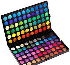 Професcиональная палитра теней 120 цветов №1 Палитра/палетка теней реплика, фото 2