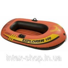Надувная лодка Explorer 100 Intex 58329