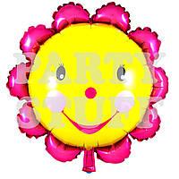 Фольгированный воздушный шар Солнце, 44 см