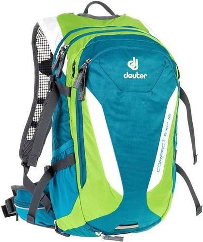 Туристический удобный мужской рюкзак DEUTER Compact EXP 16, 3200315 3214 бирюзовый
