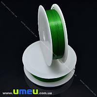 Проволока металлическая, 0,4 мм, Зеленая, 1 Катушка, 12 м (LES-015598)