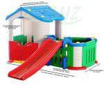 Детский большой игровой домик с горкой TB-303