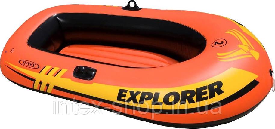 Надувная лодка Explorer 200 Intex 58330, фото 2