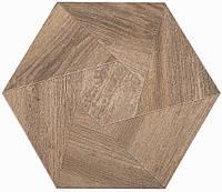 Плитка Атем для пола Atem Hexagon WOOD B 400 х 400 (Гексагон Вуд напольная бежевая)