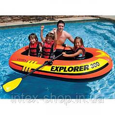 Надувний човен Explorer 300 Set Intex 58332