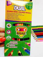 Цветные карандаши Cool For School 24 цв., фото 1