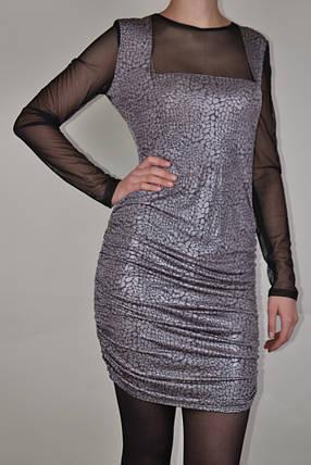 Платье с люрексом (арт. WZ1517), фото 2