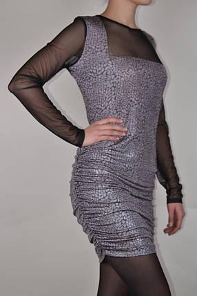 Платье с люрексом (WZ1517), фото 2
