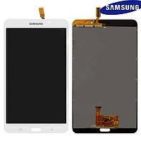 Дисплейный модуль (дисплей + сенсор) для Samsung Galaxy Tab 4 7.0 LTE T235, 3G, белый, оригинал