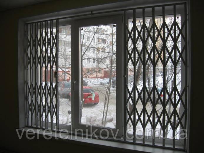 Решетки гармошки на окна цена