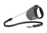 Поводок-рулетка для собак Trixie Flexi S Comfort Basic 1 - 5 м, до 12 кг, шнур