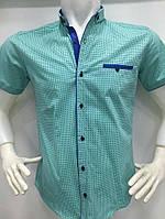 Красивая молодежная мужская рубашка