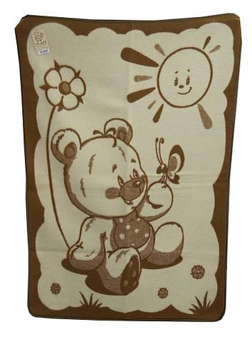 Vladi Детское одеяло шерстяное жаккардовое, фото 2