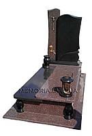 Гранітний пам'ятник одинарний 1087