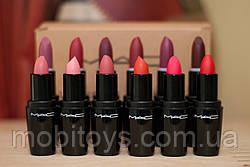 Матовая Помада MAC LOOK lustre lipstick