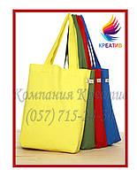 Однотонные сумки с вашим логотипом (под заказ от 50 шт) с НДС