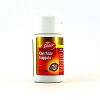 Канчнар гуггул Дабур ( Kanchnar Guggulu Dabur ) 40 таблеток