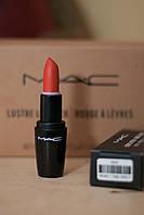 Матовая Помада MAC lustre lipstick Коралловый