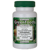 Сульфорафан из брокколи - 100% натуральный (Sulforaphane from Broccoli - 100% Natural), 400 мкг 60 капсул
