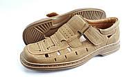 Мужские летние туфли Clowse Camel, фото 1