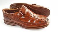 Мужские летние туфли Clowse Brown, фото 1