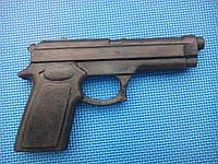 Пистолет тренировочный резиновый муляж