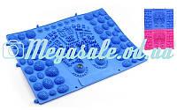 Коврик-пазл ортопедический массажный резиновый магнитный, 2 цвета: 39х28см