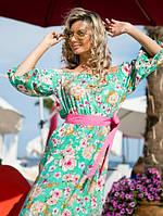 Женское длинное платье ВХ4067, фото 1