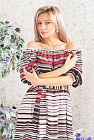 Женское длинное платье ВХ6056, фото 1