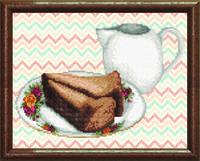 Схема для вышивания бисером на авторской канве кухонный натюрморт