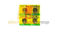 Батарейка годинник GP 189-U10 Alkaline G10, LR54