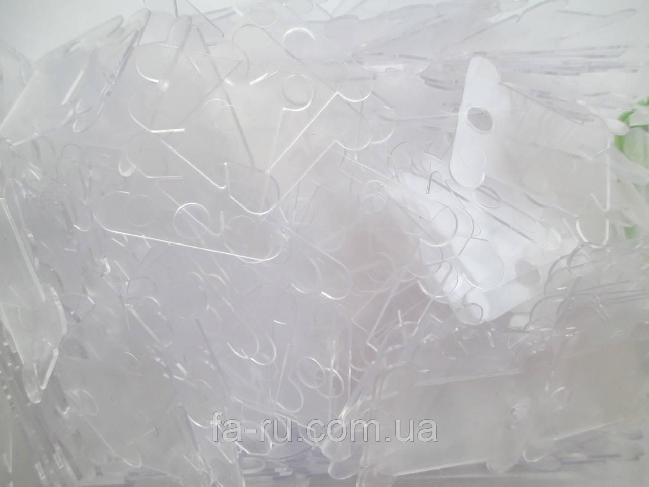 Шпули пластиковые для мулине, прозрачные