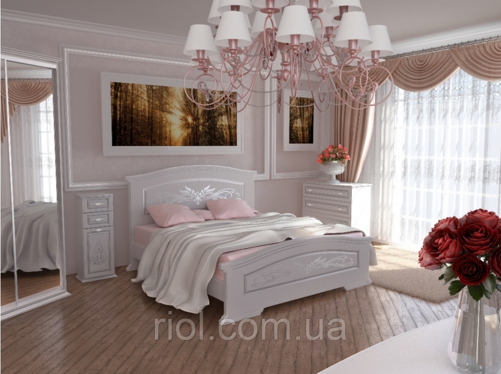 Кровать двуспальная Инесса ТМ Неман