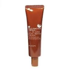 Улиточный крем против морщин для жирной кожи Mizon All In One Snail Repair Cream, 35ml