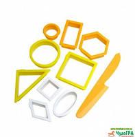 Набор формочек «Геометрические предметы» Waba Fun  , фото 1