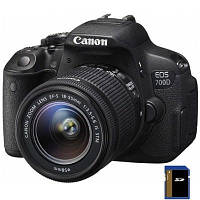 Цифровой фотоаппарат Canon EOS 700D 18-55 IS STM lens kit (8596B031)